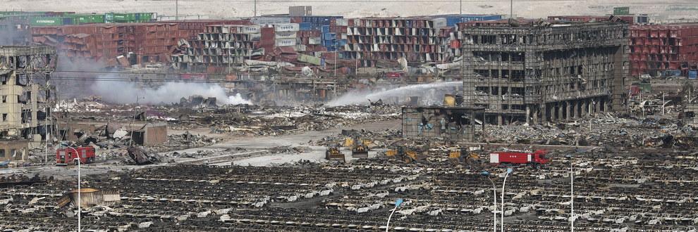【衝撃事件】中国・天津市で倉庫が爆発し有害物質が垂れ流しになっている!?