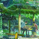 新海誠監督の名作映画「言の葉の庭」のあらすじと感想・ネタバレ【hulu配信】