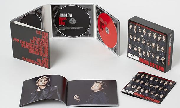 ハイアンドロー(HiGH&LOW)アルバム CD購入の仕方や特典