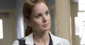 "PRISON BREAK: Dr. Sara Trancredi (Sarah Wayne Callies) in the PRISON BREAK episode ""English, Fritz or Percy"" airing Monday, Sept. 12 (9:00-10:00 PM ET/PT) on FOX."