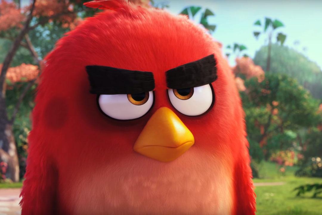 怒りん坊の鳥 レッド映画「アングリーバード」