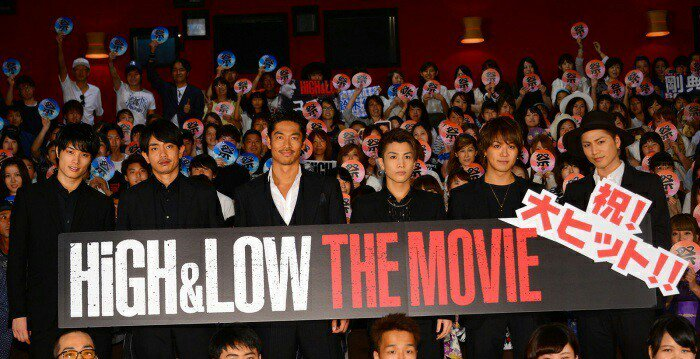 「HiGH&LOW THE MOVIE」大ヒット御礼舞台挨拶 8/4