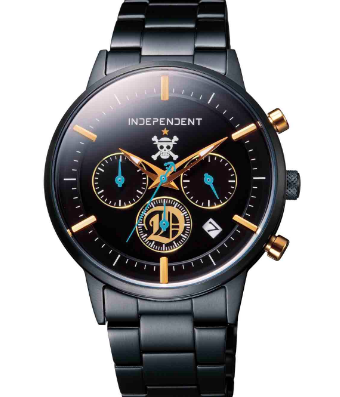 シチズンとのコラボ時計ワンピース