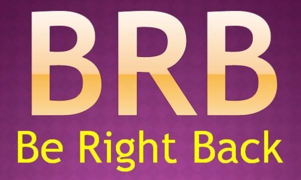 【スラング英語の教科書】「brb」の正しい意味と使い方