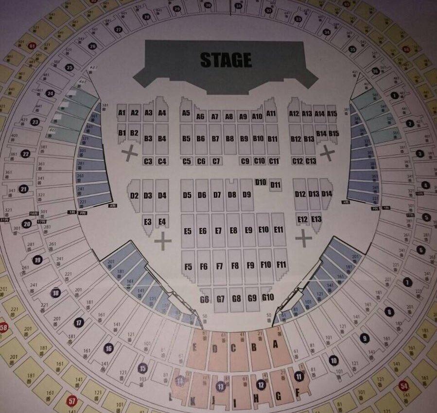 2/10,11,12ナゴヤドーム!三代目JSB「METROPOLIZ」のセトリ・レポ・ネタバレ・バクステ・アリーナ座席