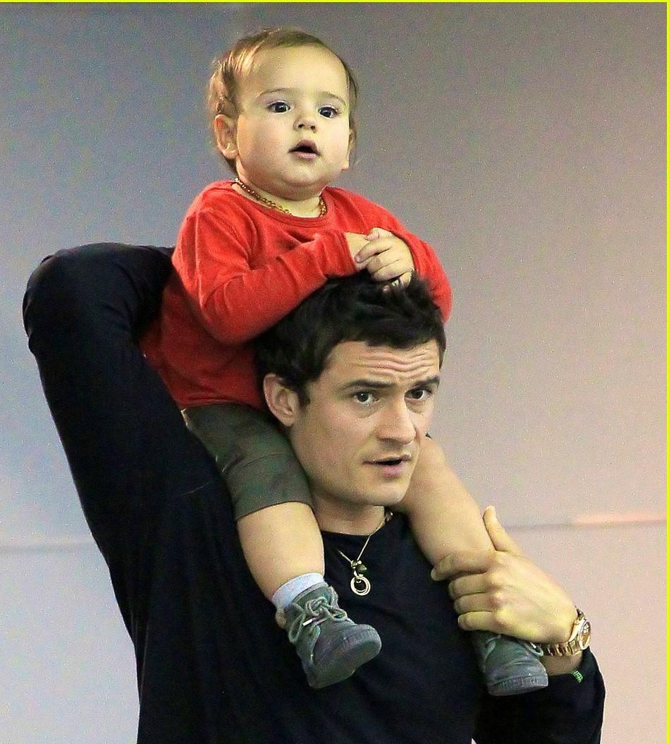 2017年ミランダカーとオーランドブルームの息子 イケメンフリン君の現在,画像,年齢