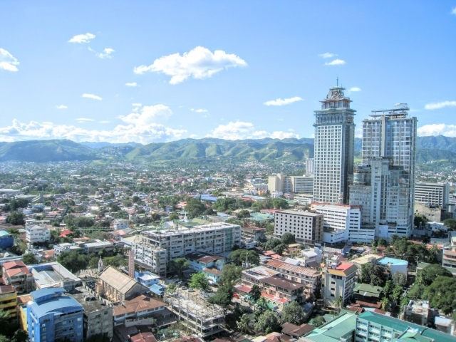 フィリピン街並み